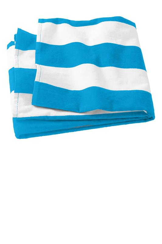 Port Authority ®  Cabana Stripe Beach Towel. PT43