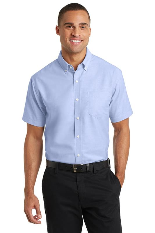 Port Authority ®  Short Sleeve SuperPro ™  Oxford Shirt. S659