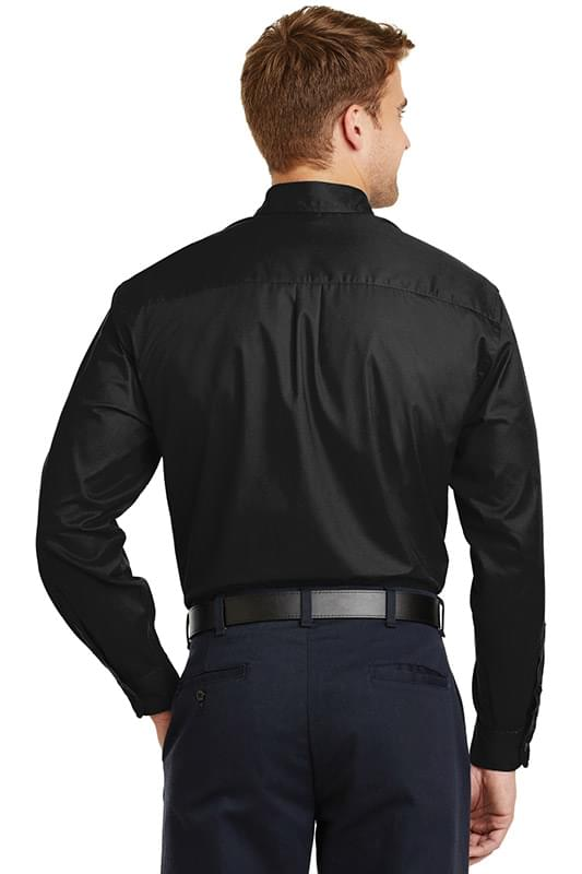 CornerStone ®  - Long Sleeve SuperPro ™  Twill Shirt. SP17