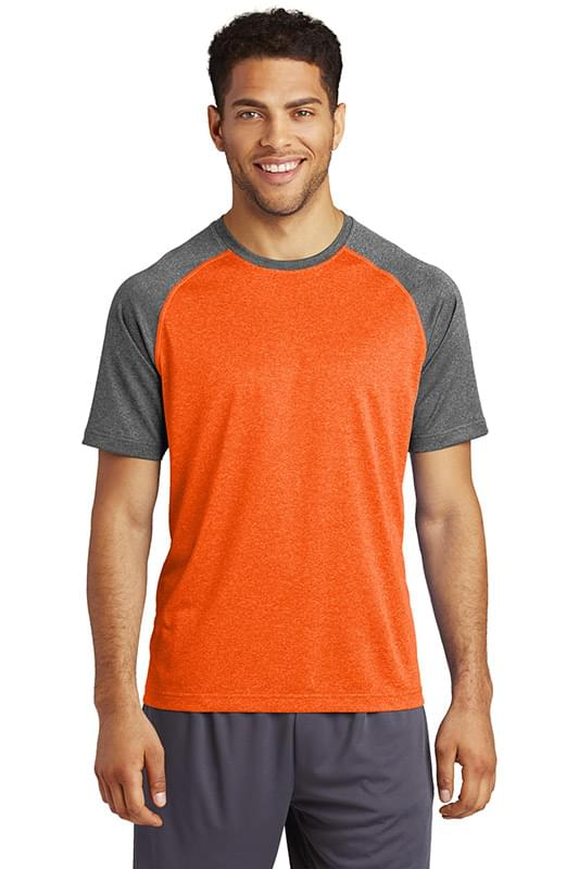 Sport-Tek  ®  Heather-On-Heather Contender  ™  Tee. ST362