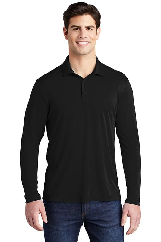 Sport-Tek  ®   Posi-UV ™   Pro Long Sleeve Polo. ST520LS