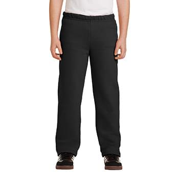 Gildan ®  Youth Heavy Blend ™  Open Bottom Sweatpant. 18400B
