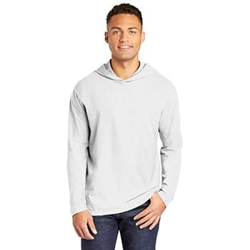 COMFORT COLORS  ®  Heavyweight Ring Spun Long Sleeve Hooded Tee. 4900