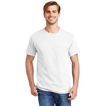 Hanes ®  - Authentic 100%  Cotton T-Shirt with Pocket.  5590