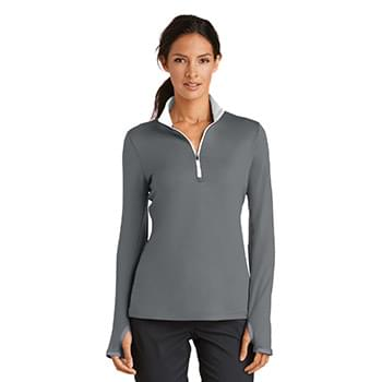 Nike Ladies Dri-FIT Stretch 1/2-Zip Cover-Up. 779796