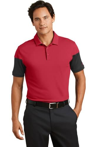Nike Dri-FIT Sleeve Colorblock Modern Fit Polo. 779802