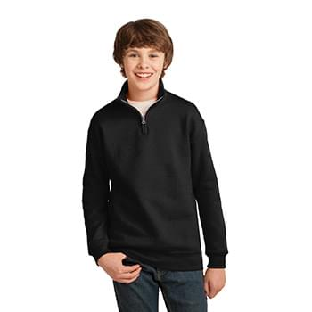 JERZEES ®  Youth NuBlend ®  1/4-Zip Cadet Collar Sweatshirt. 995Y