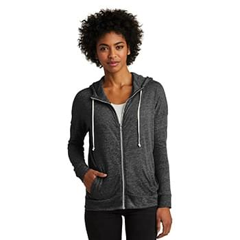 Alternative Women's Eco-Jersey ™  Cool-Down Zip Hoodie. AA2896