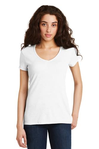 Alternative Women's The Keepsake V-Neck Vintage 50/50 Tee. AA5056