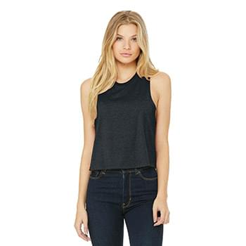 BELLA+CANVAS  ®  Women's Racerback Cropped Tank. BC6682