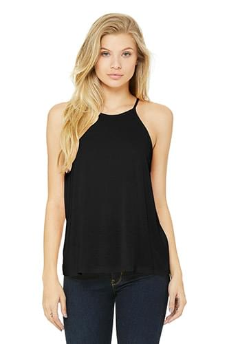 BELLA+CANVAS  ®  Women's Flowy High-Neck Tank. BC8809