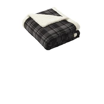 Port Authority  ®  Flannel Sherpa Blanket. BP43