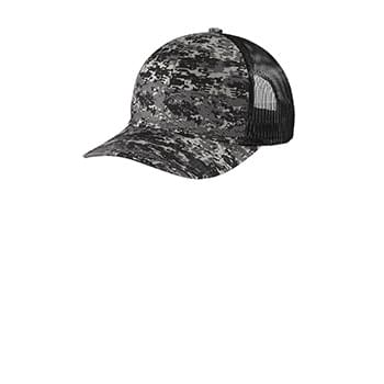 Port Authority  ®  Digi Camo Snapback Trucker Cap C114
