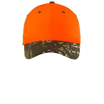 Port Authority ®  Enhanced Visibility Cap with Camo Brim. C804