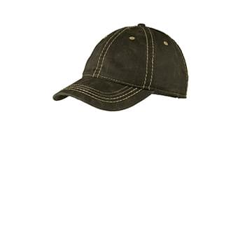Port Authority ®  Pigment Print Distressed Cap. C924