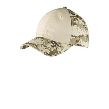 Port Authority ®  Colorblock Digital Ripstop Camouflage Cap. C926