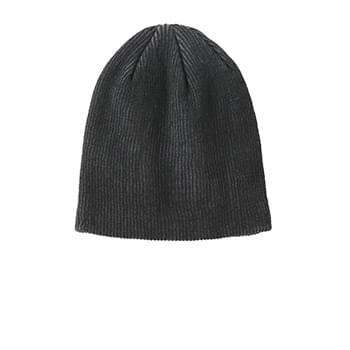 Port Authority ®  Rib Knit Slouch Beanie. C935