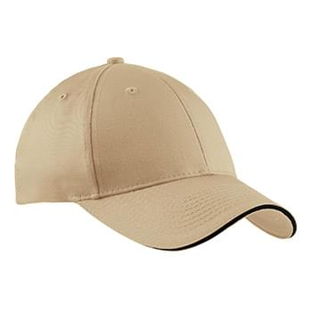 Port & Company ® Sandwich Bill Cap.  CP85