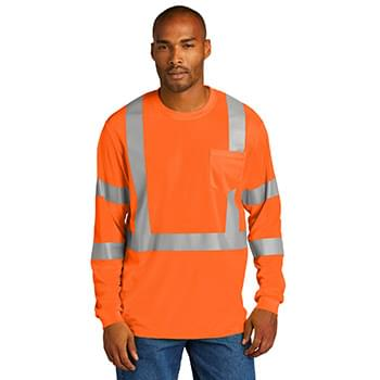 CornerStone  ®  ANSI 107 Class 3 Mesh Long Sleeve Tee. CS203