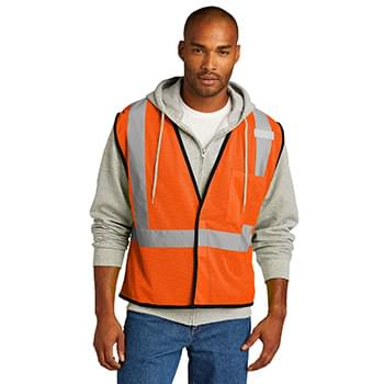 CornerStone  ®  ANSI 107 Class 2 Economy Mesh One-Pocket Vest. CSV100