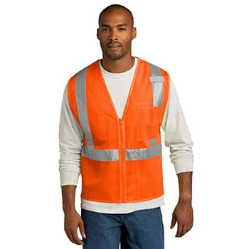 CornerStone  ®  ANSI 107 Class 2 Mesh Zippered Vest. CSV102