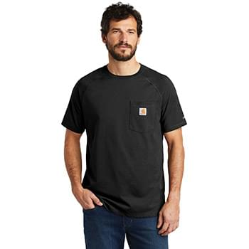 Carhartt Force  ®  Cotton Delmont Short Sleeve T-Shirt. CT100410