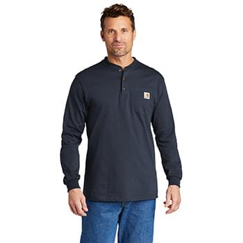 Carhartt ®  Long Sleeve Henley T-Shirt CTK128