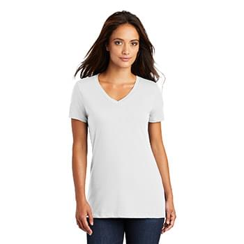 District ®  - Women's Perfect Weight ®  V-Neck Tee. DM1170L