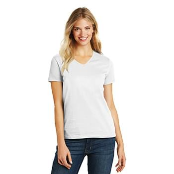 District ®  Women's Perfect Blend ®  V-Neck Tee. DM1190L