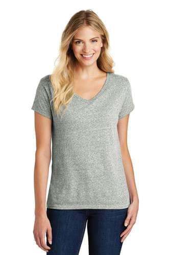 District  ®  Women's Astro V-Neck Tee. DM465A