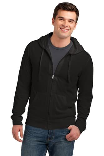 District ®  Jersey Full-Zip Hoodie. DT1100