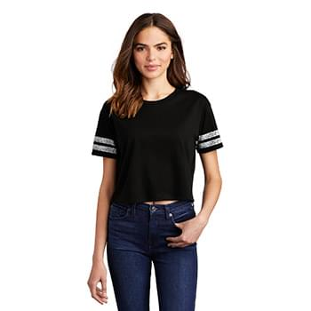 District  ®  Women's Scorecard Crop Tee DT488