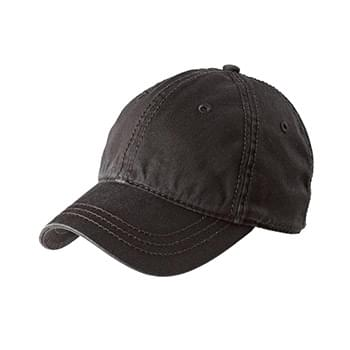District ®   Thick Stitch Cap. DT610