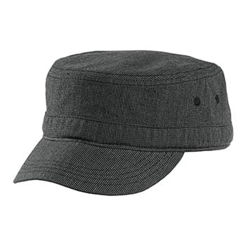 District ®  Houndstooth Military Hat DT619