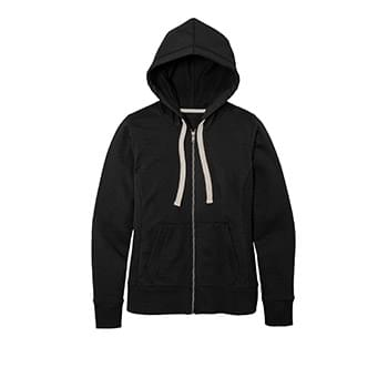 District ®  Women's Re-Fleece ™ Full-Zip Hoodie DT8103