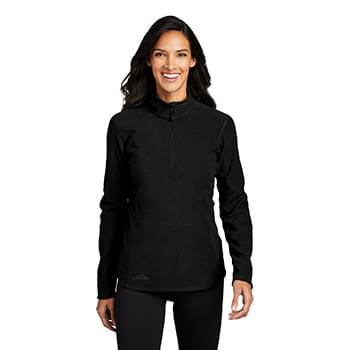 Eddie Bauer ®  Ladies 1/2-Zip Microfleece Jacket EB227
