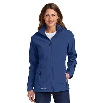 Eddie Bauer ®  Ladies Hooded Soft Shell Parka. EB537