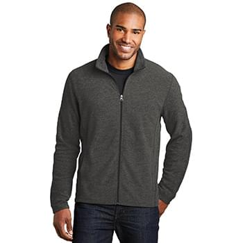 Port Authority ®  Heather Microfleece Full-Zip Jacket. F235