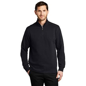 Port Authority ®  Slub Fleece 1/4-Zip Pullover. F295