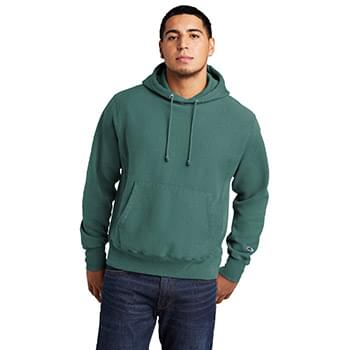 Champion  ®  Reverse Weave  ®  Garment-Dyed Hooded Sweatshirt. GDS101