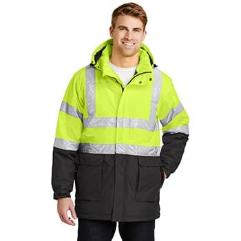 Port Authority ®  ANSI 107 Class 3 Safety Heavyweight Parka. J799S