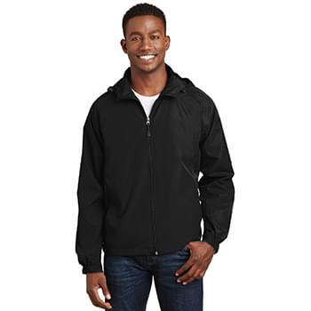 Sport-Tek ®  Hooded Raglan Jacket. JST73