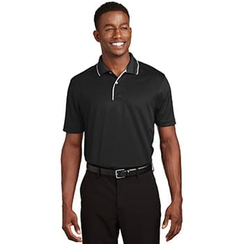 Sport-Tek ®  Dri-Mesh ®  Polo with Tipped Collar and Piping.  K467