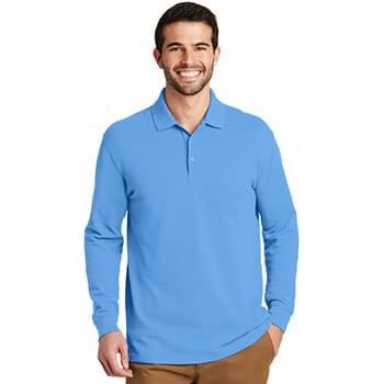 Port Authority ®  EZCotton ®  Long Sleeve Polo. K8000LS