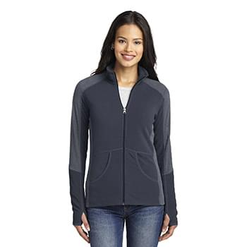 Port Authority ®  Ladies Colorblock Microfleece Jacket. L230