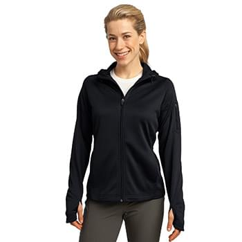 Sport-Tek ®  Ladies Tech Fleece Full-Zip Hooded Jacket. L248