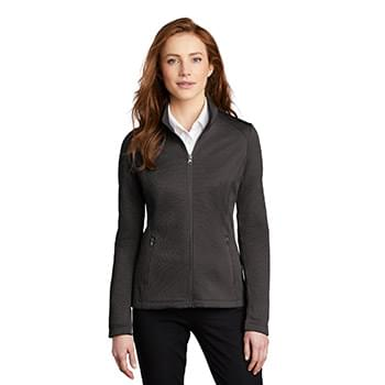 Port Authority  ®  Ladies Diamond Heather Fleece Full-Zip Jacket L249