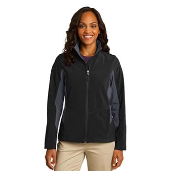 Port Authority ®  Ladies Core Colorblock Soft Shell Jacket. L318