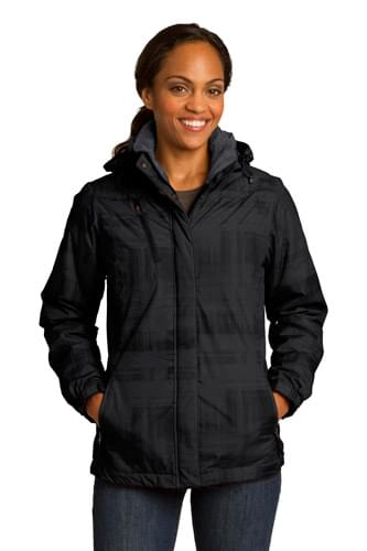 Port Authority ®  Ladies Brushstroke Print Insulated Jacket. L320