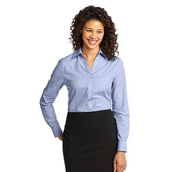 Port Authority ®  Ladies Crosshatch Easy Care Shirt. L640